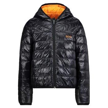Hugo Boss Hugo Boss Winterjas Zwart/Oranje