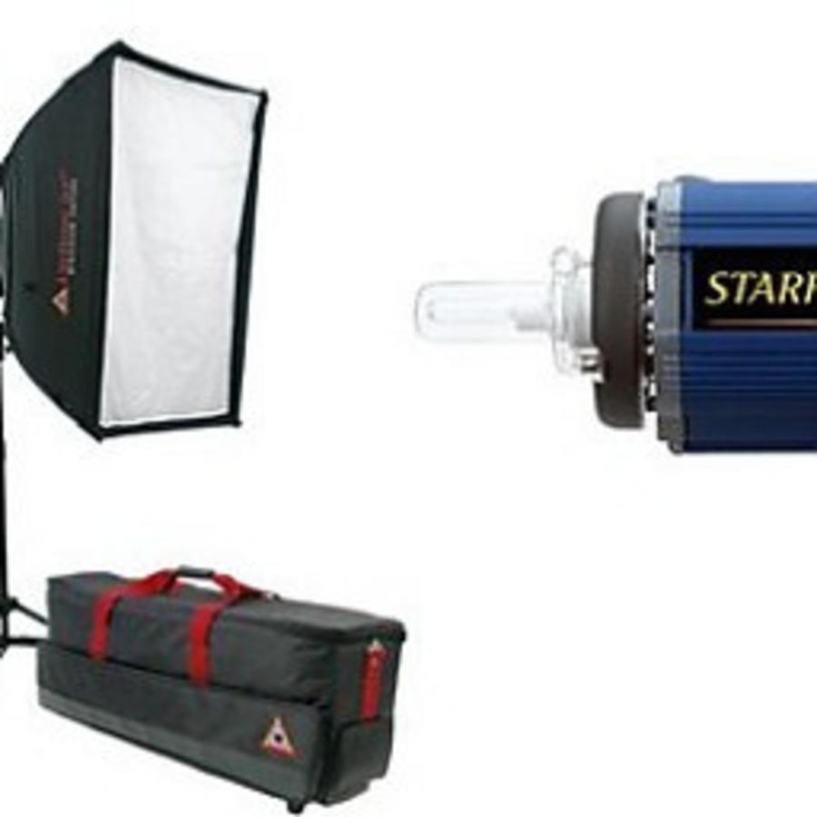 Photoflex Complete studioset   flitsset 1000 + 650 watt.