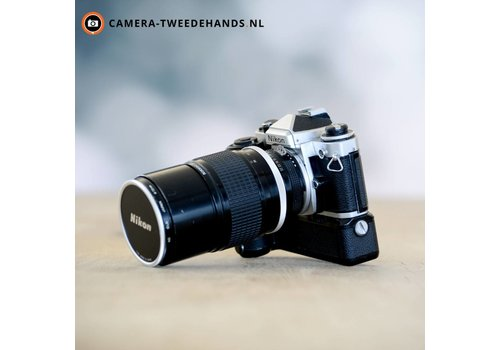 Nikon FE + Nikon Ai 180mm F2.8