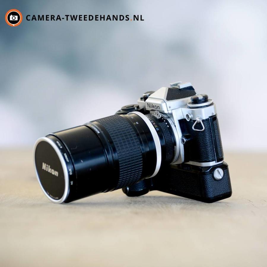 Nikon FE + Nikon Ai 180mm F2.8 ED