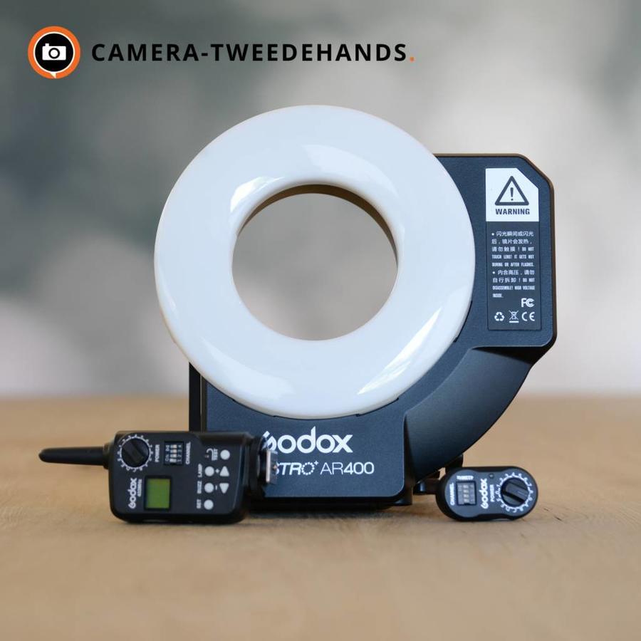 Godox Witstro AR400 Ringflits + transmitter
