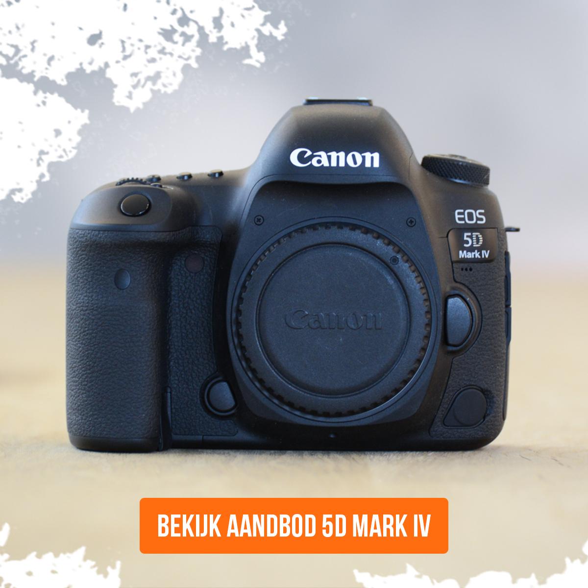 Canon 5D Mark IV occasion