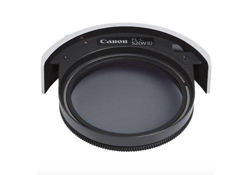 Canon 52mm Drop-in Circulair polarisatie filter - PL-C 52 WII