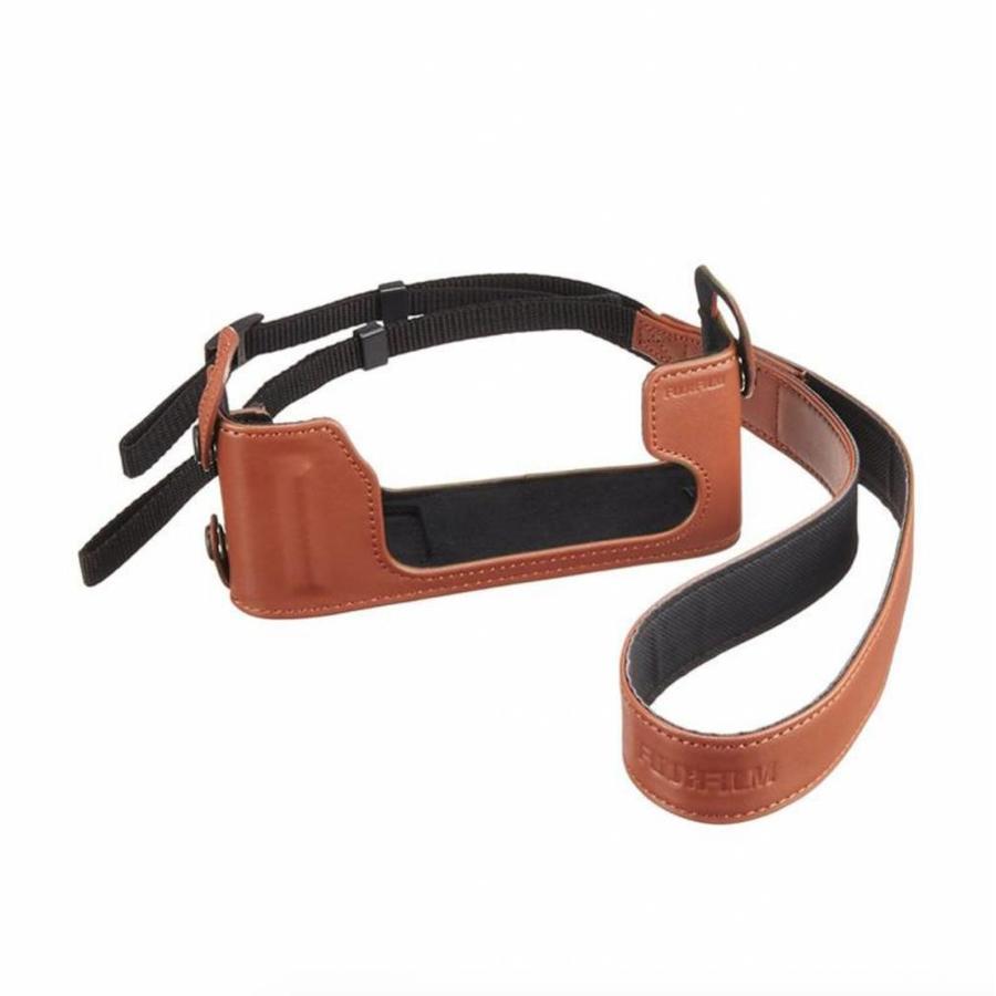 Leather case Fujifilm X-E1 - Cognac