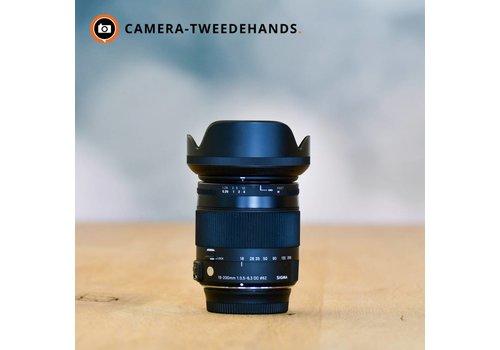 Sigma 18-200 3.5-6.3 Contemporary - Nikon -- Gereserveerd Wim