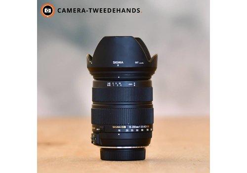 Sigma 18-200mm 3.5-6.3 DC OS HSM (Nikon)