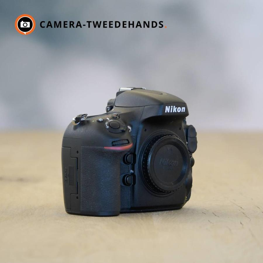 Nikon D800 -- Incl 21% BTW -- Slechts 7087 kliks