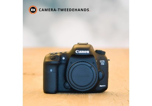 Canon 7D Mark II -- slechts 14857 kliks (Tip)