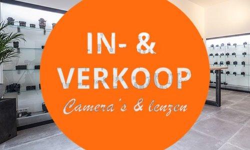 Wij kopen ook Camera's & Lenzen in (Tip)