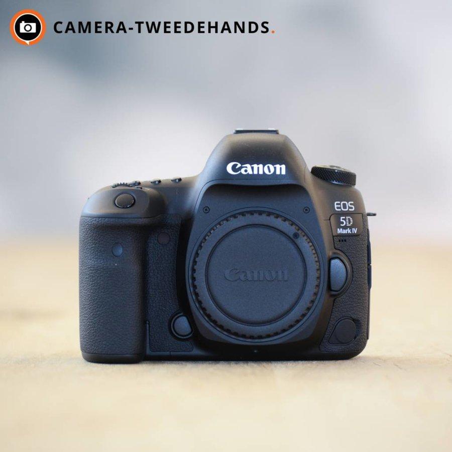 Canon 5D Mark IV -- Nieuw -- Incl 21% BTW -- 24 Maanden Garantie