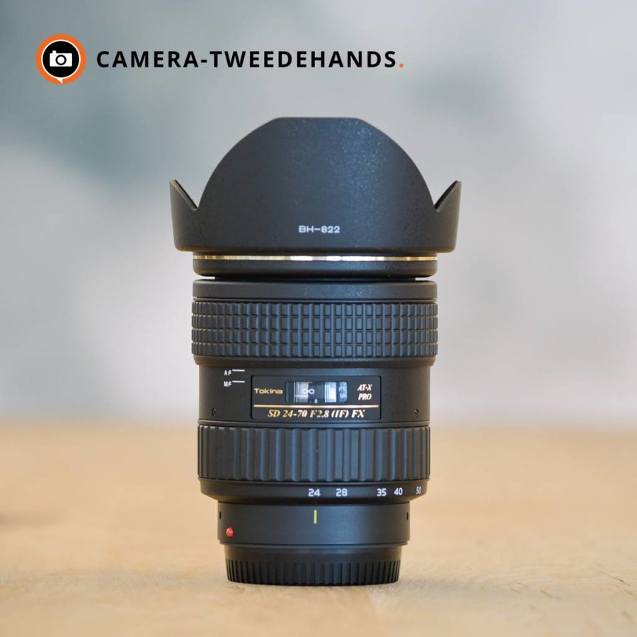 Tokina AT-X 24-70mm 2.8 Pro FX (Canon) - Outlet