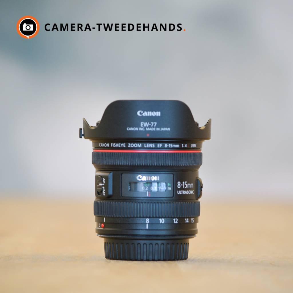 Canon Canon 8-15mm 4.0 L EF USM Fisheye F4