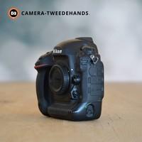 Nikon D4 -- Slechts 150669 kliks