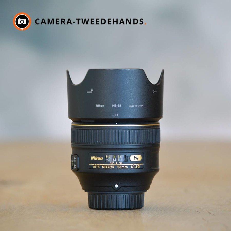 Nikon 58mm 1.4 G AF-S