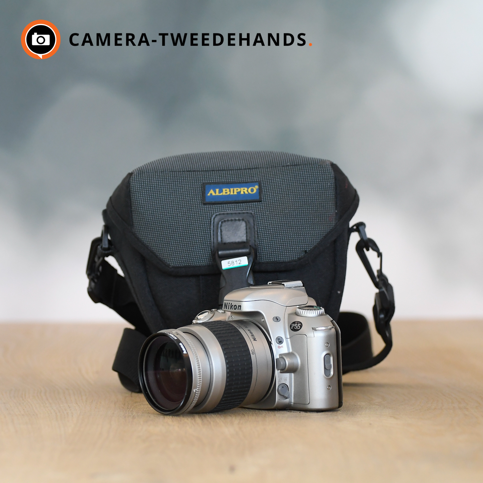Nikon Nikon AF 28-80mm 3-5.6G - (incl. Gratis Nikon F55)