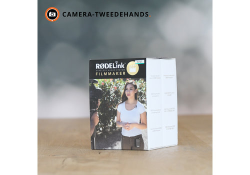 RODE RODELink Filmmaker Kit - Wireless audio Systeem --(Lavalier) - DEMO