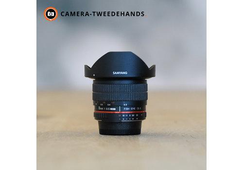 Samyang 8 mm 3.5 Fisheye MC CS-II (Nikon)
