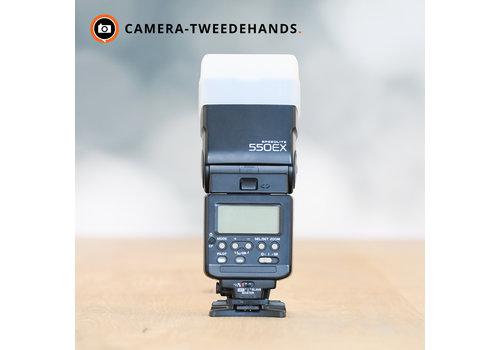 Canon 550ex flitser