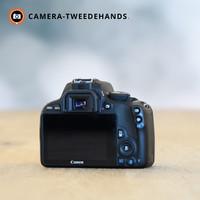 Canon 100D - Slechts 3765 kliks (Tip)