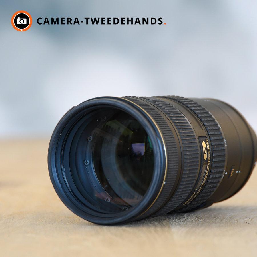 Nikon 70-200mm 2.8 G AF-S ED VR II  (Gebruikerspporen frontglas -- Niet zichtbaar op foto's)