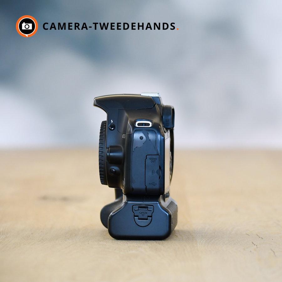 Canon 450D + Originele Canon Grip -- 39940 kliks