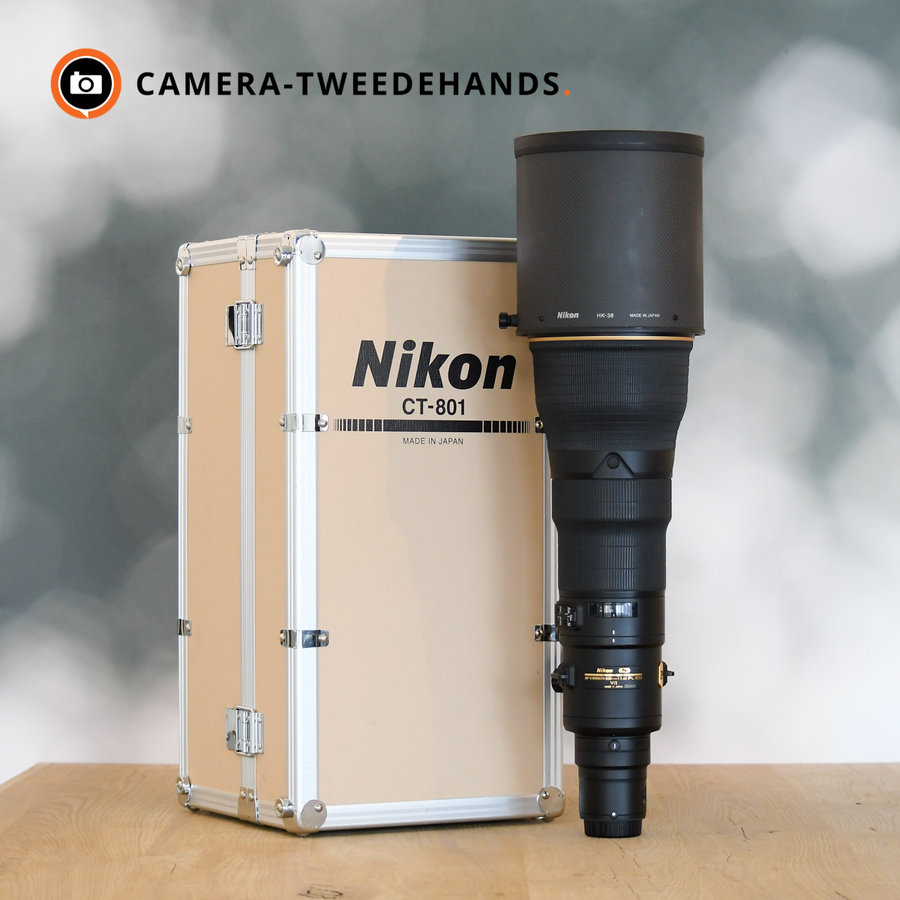 Nikon 800mm 5.6 E FL ED VR + TC800-1.25E