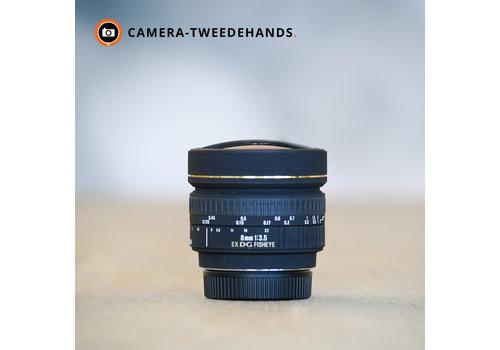 Sigma 8mm 3.5 EX DG Fisheye Circ (Nikon)