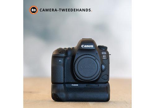 Canon 6D Mark II + Grip -- 5862 kliks