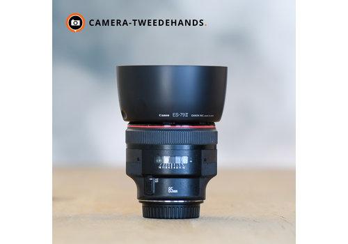 Canon 85mm 1.2 L EF USM II - Beschadiging Filterring