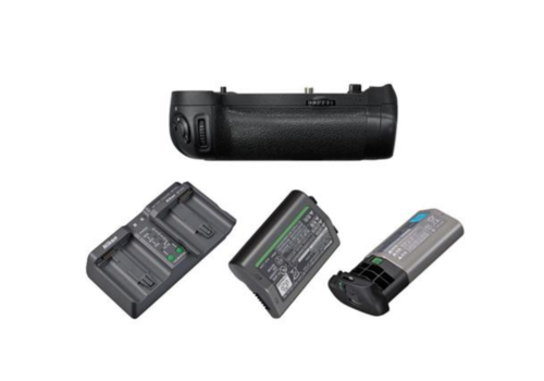 Nikon MB-D18 + EN-EL18a + Jupio Lader