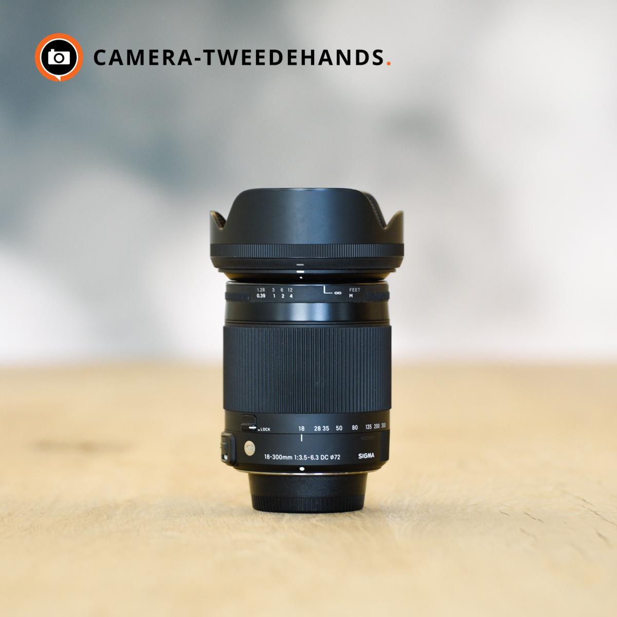 Sigma Sigma 18-300mm 3.5-6.3 DC Macro C (Nikon)