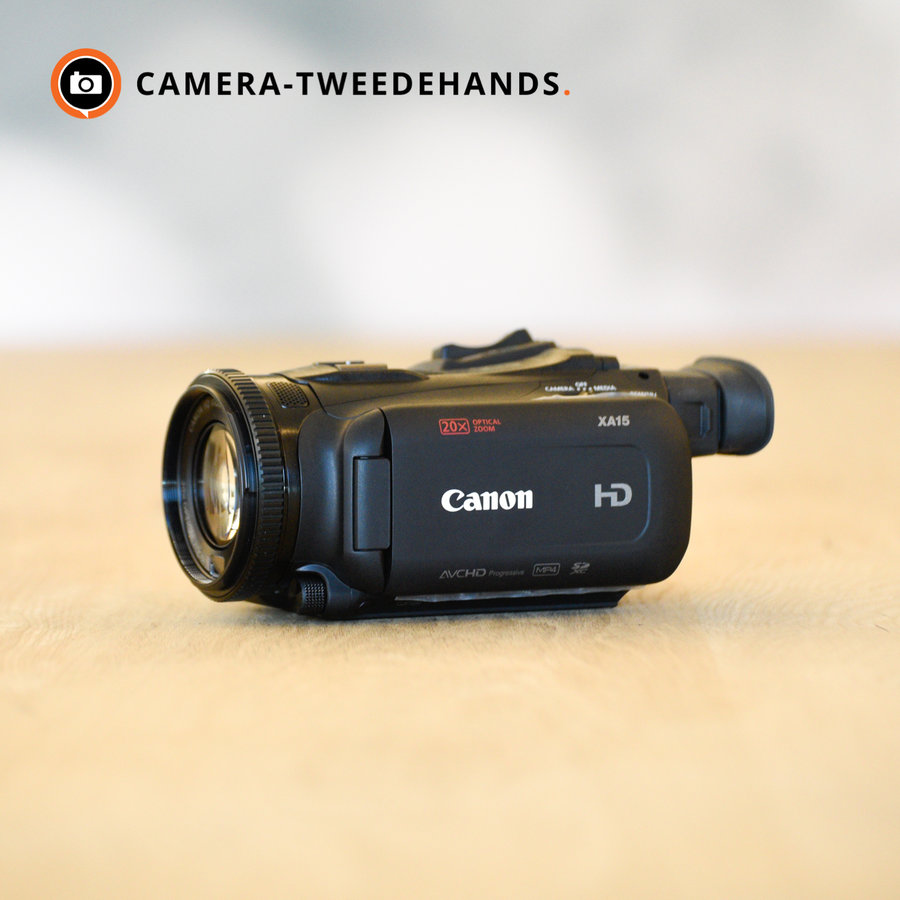 Outlet: Canon XA15 Full HD Videocamera | Pro-camcorder