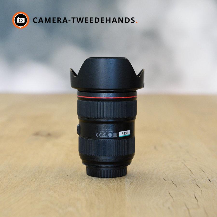 Canon 24-70mm 2.8 L EF USM II - Beschadiging frontglas