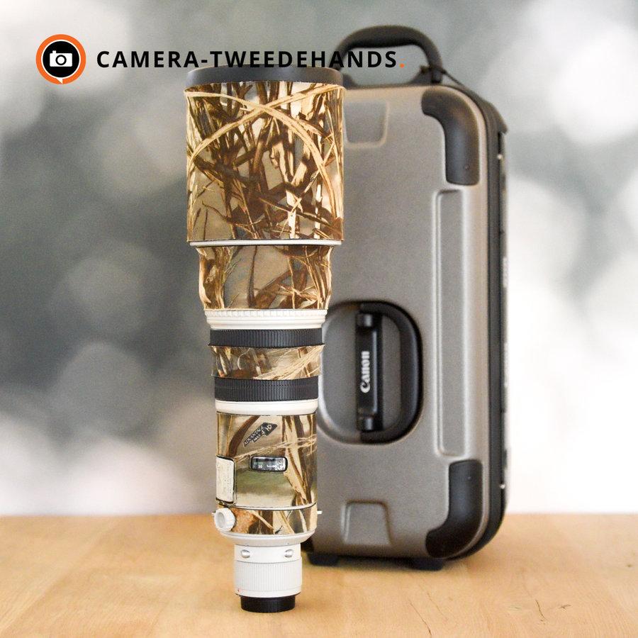 Canon 500mm 4.0 L EF IS USM F4 - Zo goed als nieuw