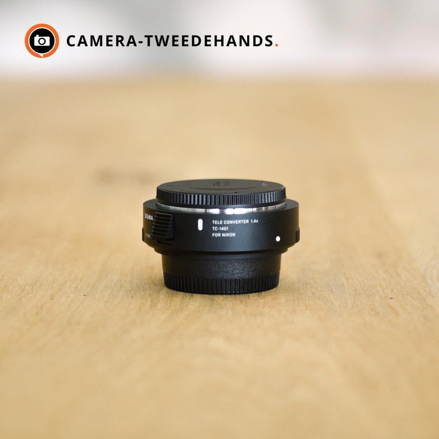 Sigma TC-1401 1.4x Tele converter (Nikon)