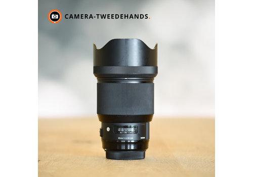 Sigma 85mm 1.4 EX DG HSM Art (Canon)