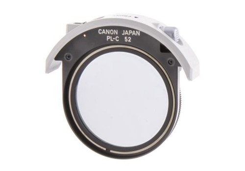 Canon PL-C 52mm Drop-in polarisatiefilter