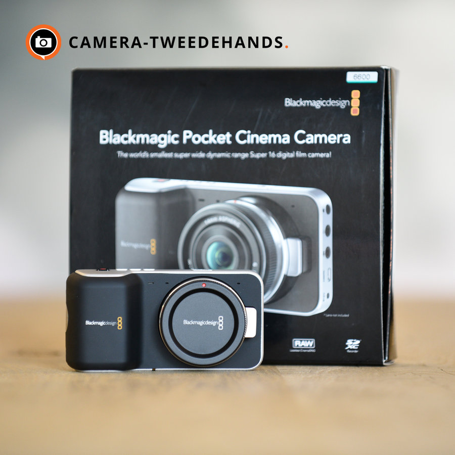 Blackmagic Pocket Cinema Camera -- Outlet
