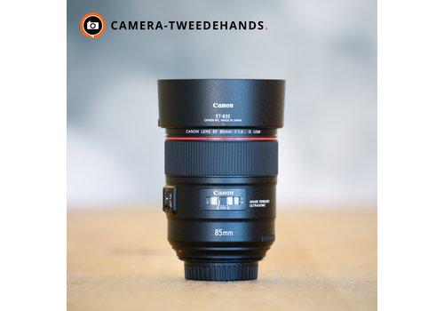 Canon 85mm 1.4 L EF IS USM -- 4 jaar garantie