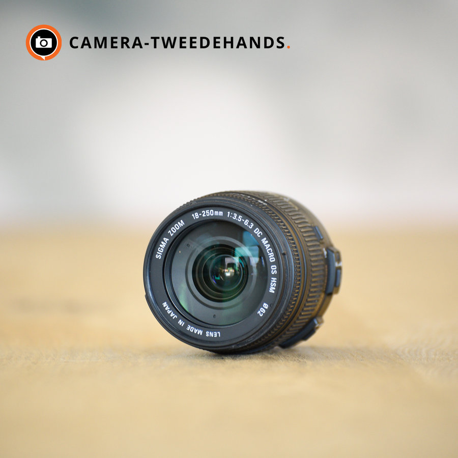 Sigma 18-250mm 3.5-6.3 DC OS HSM Macro (Canon)