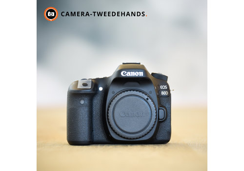 Canon 80D -- Outlet -- incl. btw