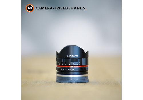 Samyang 8mm 2.8 UMS Fisheye -- Sony E-mount