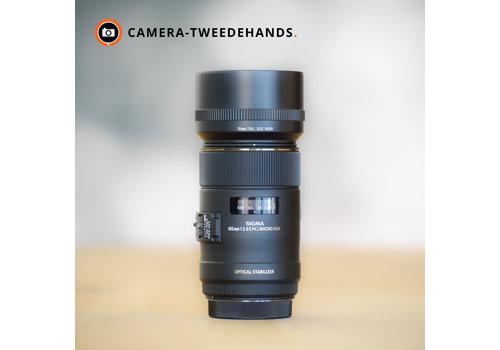 Gereserveerd -- Sigma 105mm 2.8 EX DG Macro OS (Canon)