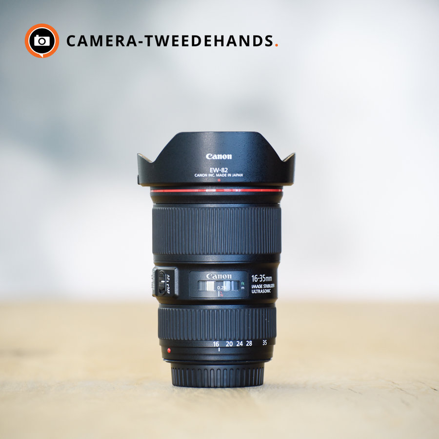 Canon 16-35mm 4.0 L IS EF USM  -- Incl BTW