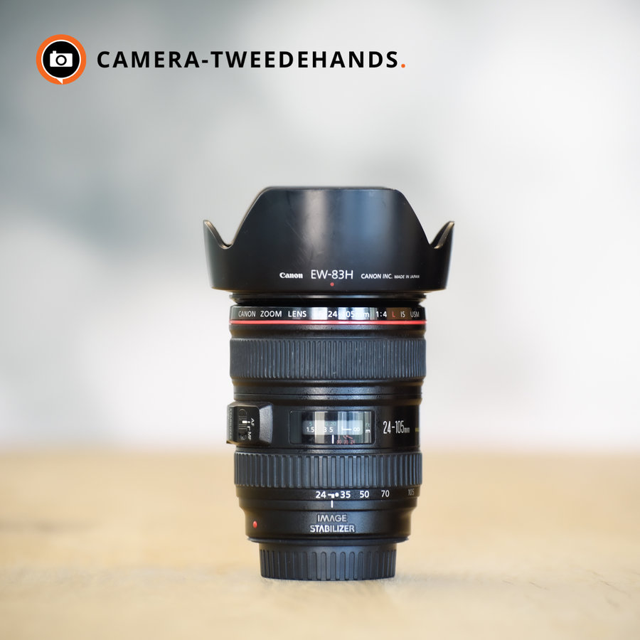 Canon 24-105mm 4.0 L EF IS USM F4 -- Incl BTW