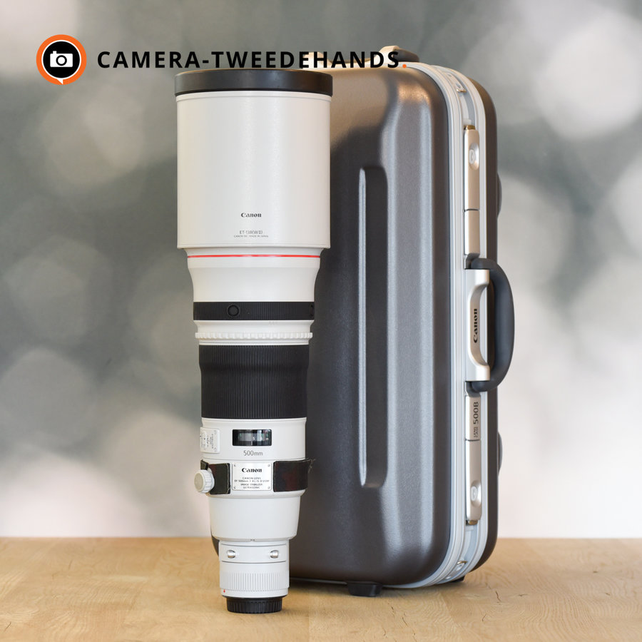 Canon 500mm 4.0 L EF IS USM II F4 -- Incl BTW
