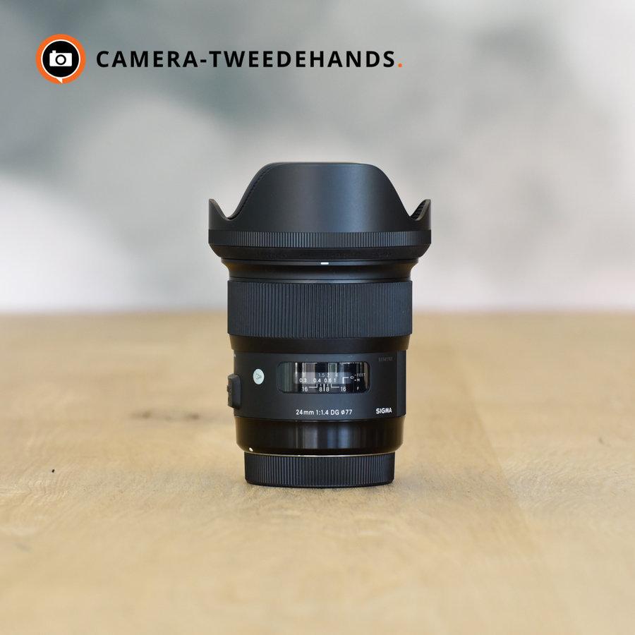 Sigma 24mm 1.4 DG HSM ART (Canon) -- Incl BTW