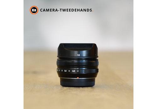 Fujifilm XF 18mm 2.0 R