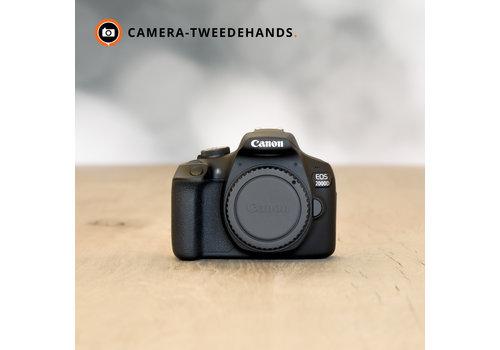 Canon 2000D -- 1872 kliks