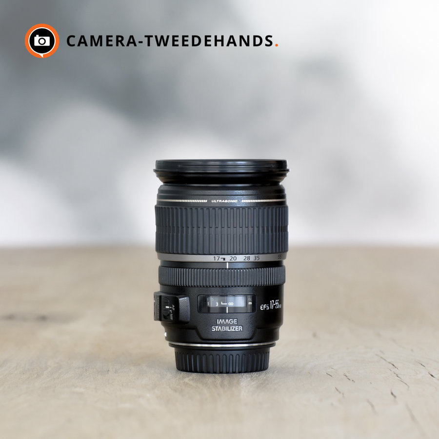 Canon EF-S 17-55mm f/2.8 IS USM -- Incl. BTW